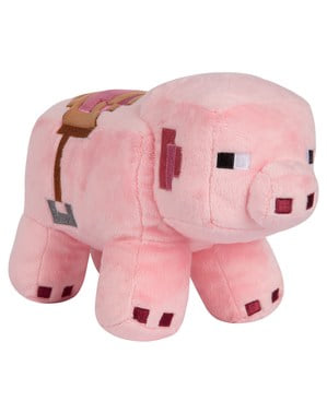 Peluche Minecraft Cochon 16 cm