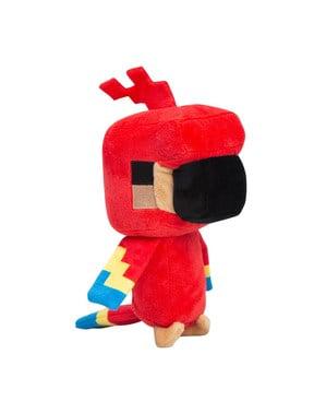 Plyšová hračka Minecraft papoušek 17cm