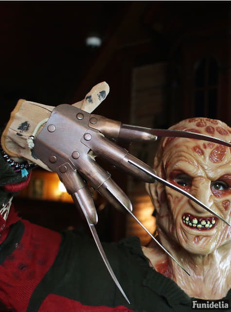 Freddy Krueger Deluxe Metallhandske