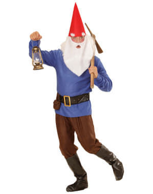 Mens Working Gnome Costume