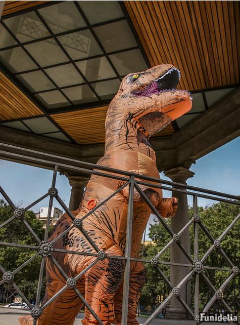 Disfraz de T-Rex hinchable Jurassic World para adulto - Carnaval