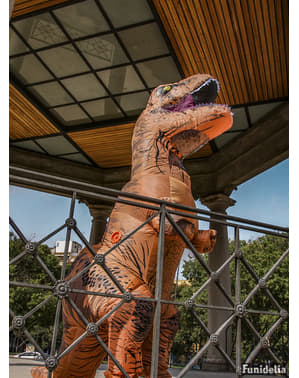 Déguisement dinosaure T-Rex gonflable adulte - Jurassic World