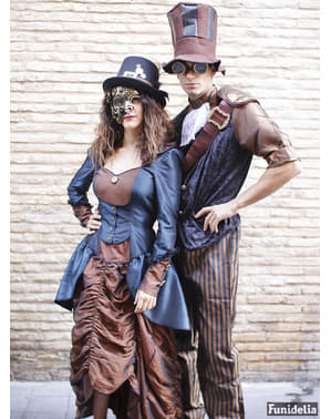 Fato de Steampunk veneziano para homem