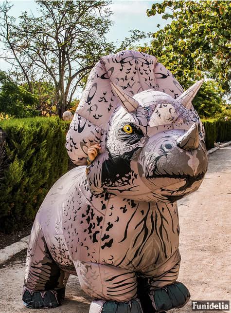 Disfraz hinchable de Triceratops para adulto - Jurassic World
