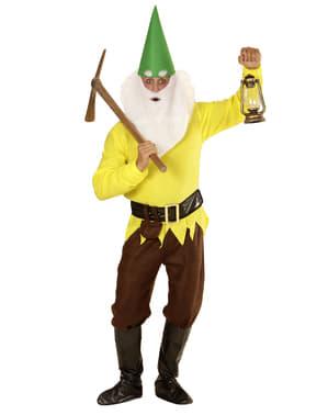 Grimmiger Zwerg Kostüm für Herren