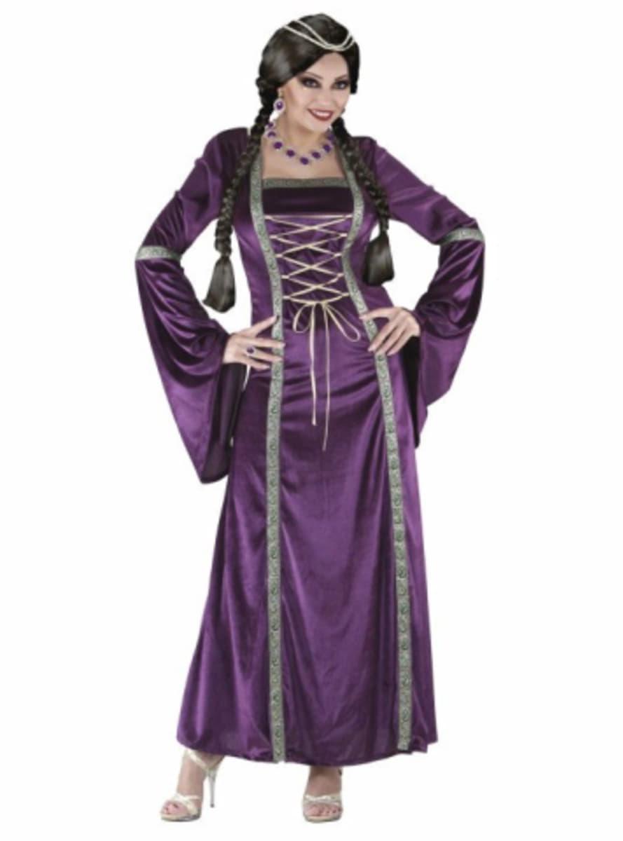 Disfraz de princesa medieval para mujer funidelia - Dressing liefde ...