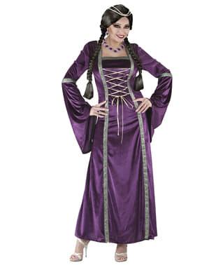 Middelaldersk Prinsessekostyme til Damer
