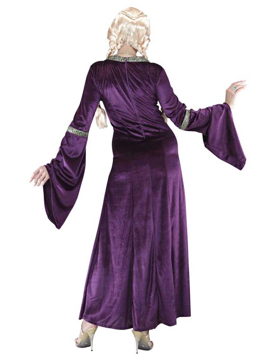 Disfraz de princesa medieval para mujer | Funidelia