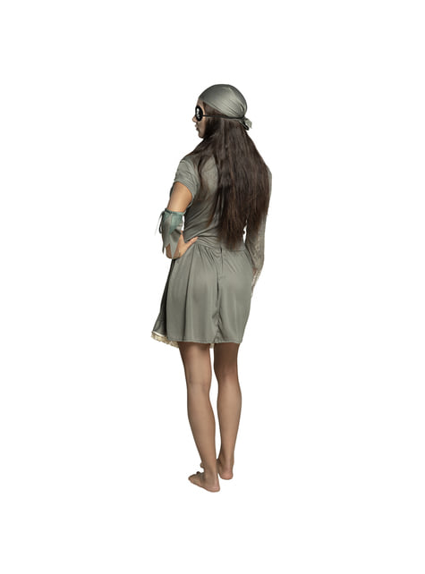 Disfraz de pirata fantasma para mujer - mujer