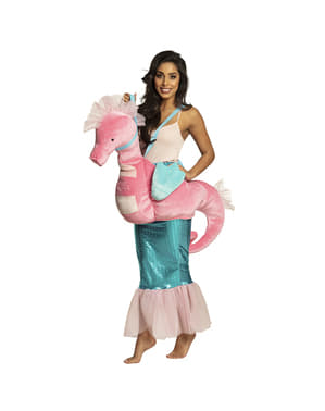 Disfraz de caballito de mar Ride On para mujer