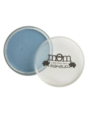 Makeup na vodnej báze v modrej farbe