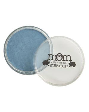 Vesipohjainen meikki sinisenä