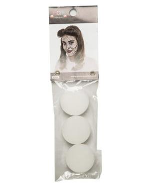 Набор из 3 губок для макияжа