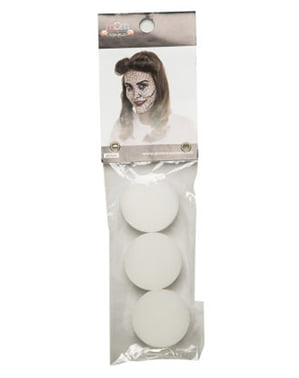 Set van 3 Makeup Sponzen