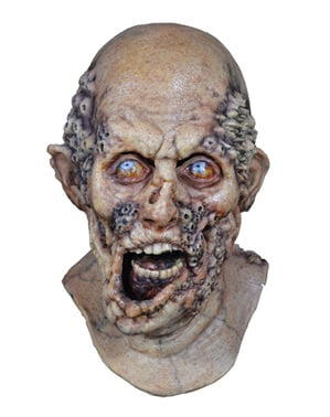 Råtnende Zombie maske til voksne - The Walking Dead