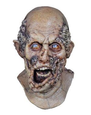 The Walking Dead - Rådnende Zombie maske til voksne