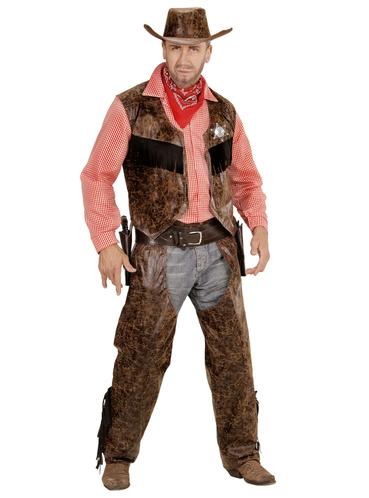 Карнавальный взрослый костюм Ковбой продажа цена в