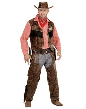 Cowboy Maskeraddräkt Herr