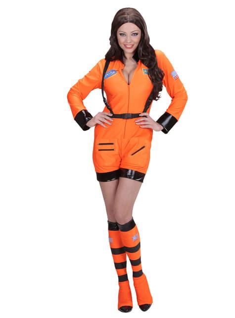 אישה תפוז אסטרונאוט תלבושות