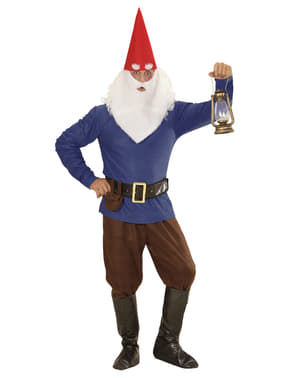 Mens Plus Size Working Gnome Costume