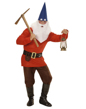 Mens Plus Size Woodland Gnome Costume