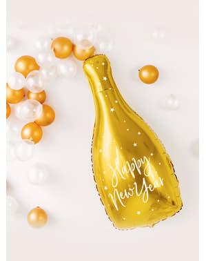 Folienballon Flaschenform