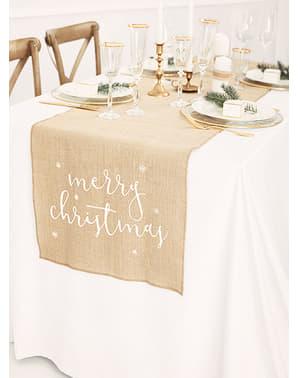 Pano de mesa Merry Christmas
