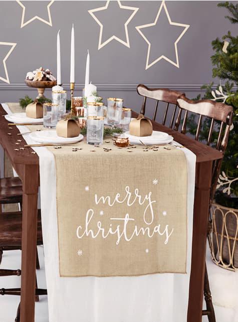 Camino de mesa Merry Christmas - barato
