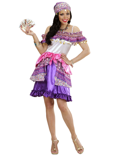 Womens Gypsy Fortune Teller Costume  sc 1 st  Funidelia & Womens Gypsy Fortune Teller Costume. The coolest | Funidelia