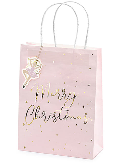 3 sacs cadeaux de noël pastel - acheter
