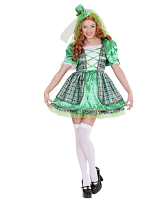 Disfraz de irlandesa para mujer