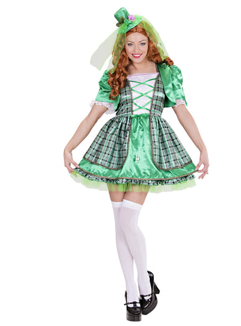 Disfraz de irlandesa para mujer - mujer