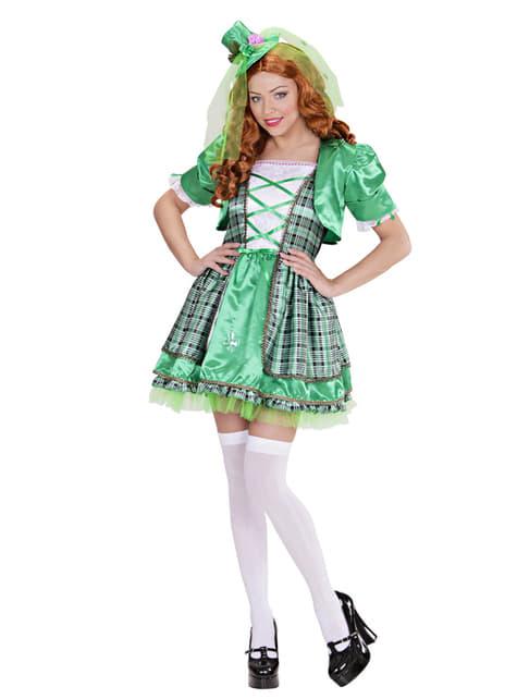 Disfraz de irlandesa para mujer - original