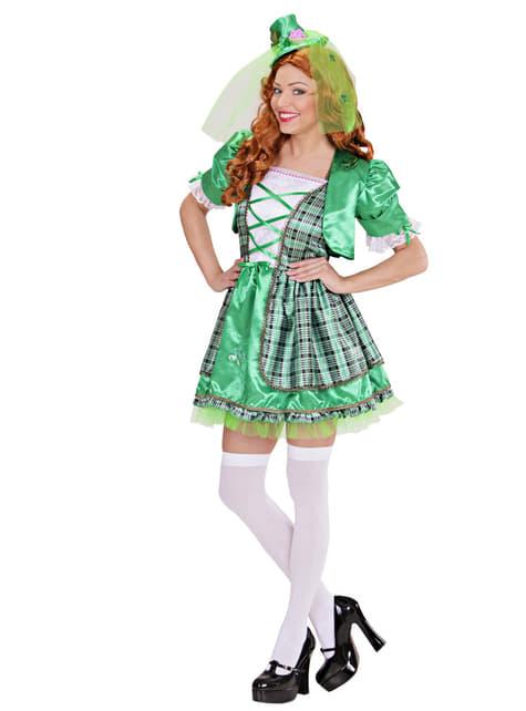 Disfraz de irlandesa para mujer - traje
