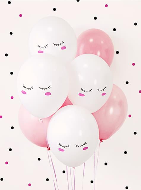 50 balões extra resistentes Símile unicórnio (30 cm) - para as tuas festas