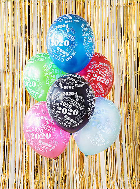 6 Luftballons Silvester