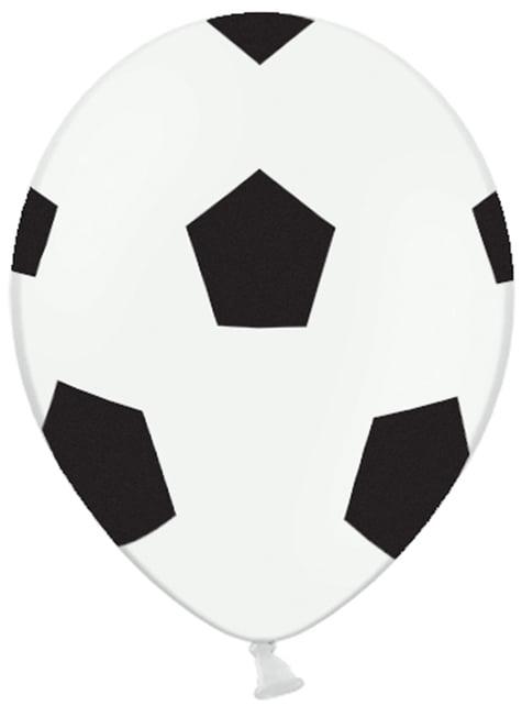 50 football balonků (30 cm)