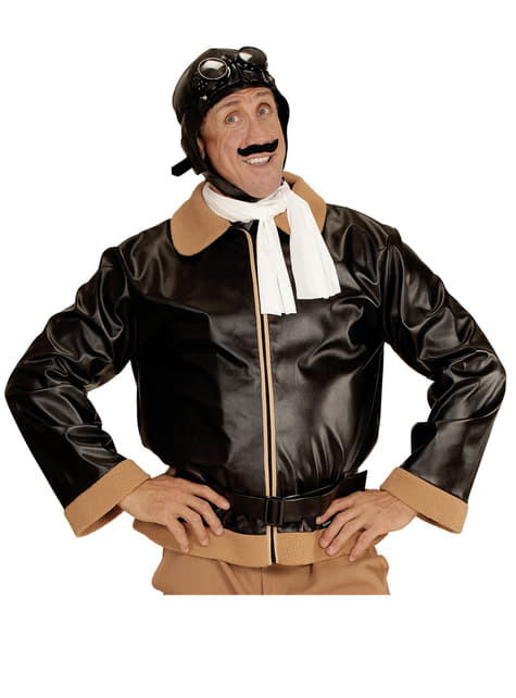Disfraz de aviador retro para hombre - hombre
