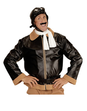 Mens Retro Aviator Costume
