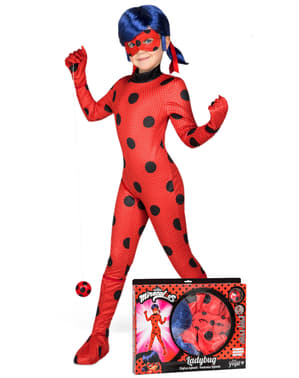 Ladybug Costume and Wig for girls