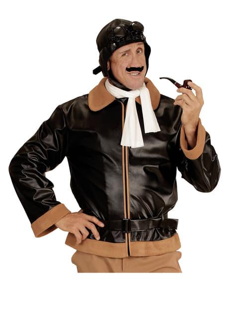 Disfraz de aviador retro para hombre - original