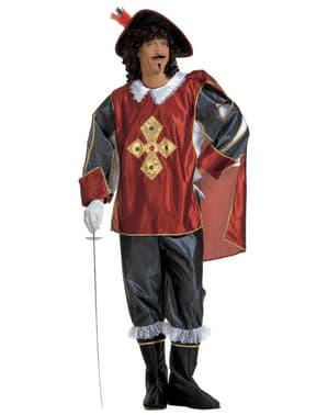 Elegante musketier kostuum voor mannen