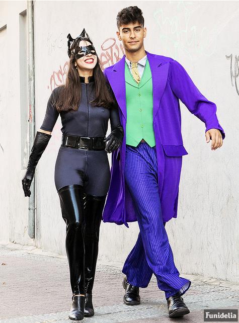 Costume Catwoman con maschera e orecchie