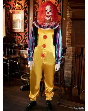 Męski kostium klowna Pennywise z filmu To - wersja deluxe