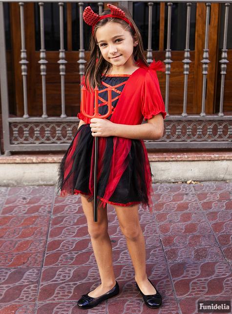 女の子用悪魔衣装