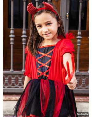 Dívčí kostým ďáblice