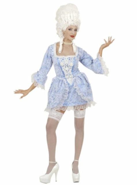 Disfraz de marquesa barroca atrevida para mujer