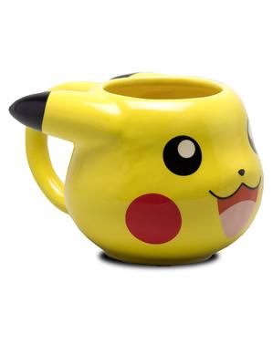 3D Pikachu Tasse - Pokémon
