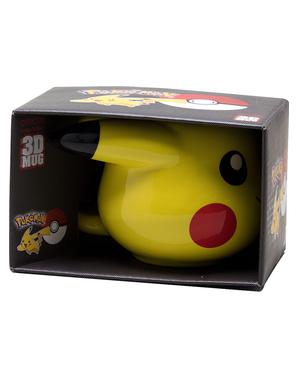 Caneca 3D de Pikachu - Pokemon