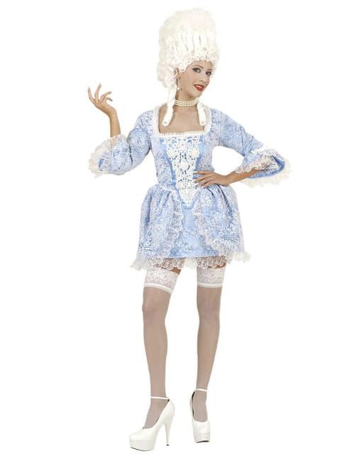 Disfraz de marquesa barroca atrevida para mujer - original